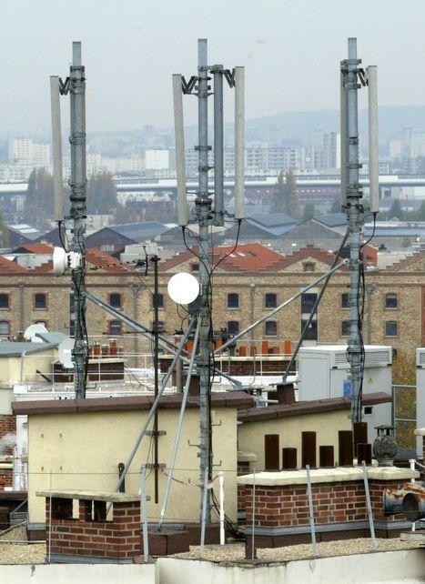 Paris, capitale de la 4G | Pollutions électromagnétiques | Scoop.it