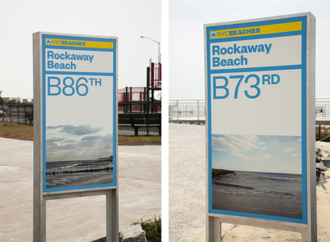 The new NYC Beaches identity and signage | Corporate Identity | Scoop.it