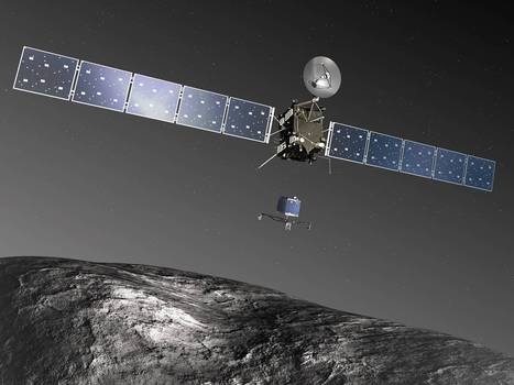 Rosetta spacecraft to begin 'Armageddon-like' mission: Landing on a comet travelling at 24,600mph   CLOVER ENTERPRISES ''THE ENTERTAINMENT OF CHOICE''   Scoop.it