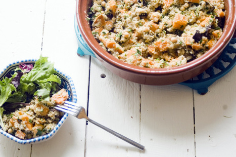 Here's how to make sweet potato, aubergine and quinoa salad | Smoothie | Scoop.it