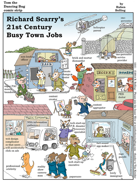 Richard Scarry's Busy Town in the 21st Century | School Libraries around the world | Scoop.it