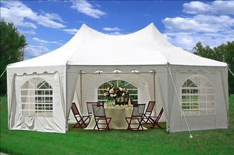 Choose the Best Wedding Party Tent-Canopyhuts | Canopy Tents for Sale | Scoop.it