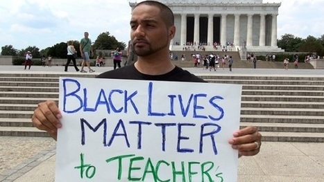 For black lives to matter, so must the education of black students | Jesse Hagopian Blog | NEA.org | immersive media | Scoop.it