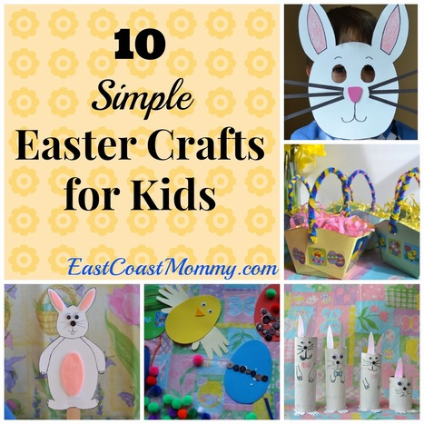 East Coast Mommy: 10 {Simple} Easter Crafts for Kids | Arts & Crafts | Scoop.it
