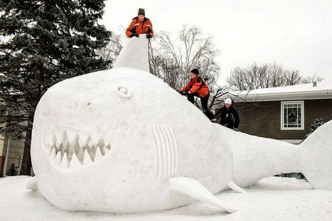 13 Coolest Yard Snow Sculptures | Sculptures of the Cold | Scoop.it
