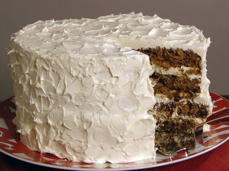 Ron's Carrot Cake with White Chocolate Buttercream | Cake decorators | Scoop.it