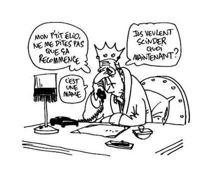 BELGIQUE : L'ACTUALITE AU CRAYONNE.... Le roi déprime....après les flamands, voici les wallons..... | Belgitude | Scoop.it