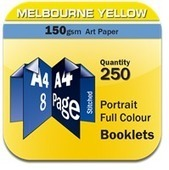 Booklets are printed in Full Colour | online printings Australia | Scoop.it