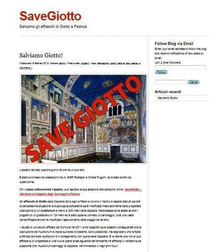 È nato SaveGiotto.com | Capire l'arte | Scoop.it