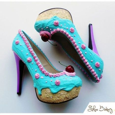 Edible shoes! | Walking On Sunshine | Scoop.it
