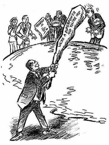 big stick diplomacy essay Big stick diplomacy was the most effective  theodore roosevelt used big stick diplomacy,  adopted moral diplomacy, which was not as successful as big stick.
