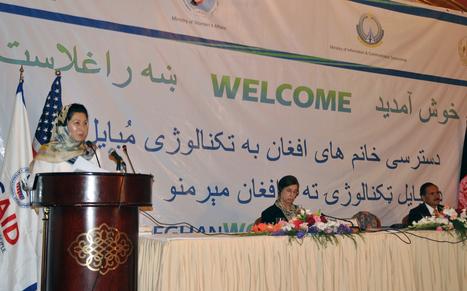 'Afghan women increasingly adopting cell phones' | U.S. - Afghanistan Partnership | Scoop.it