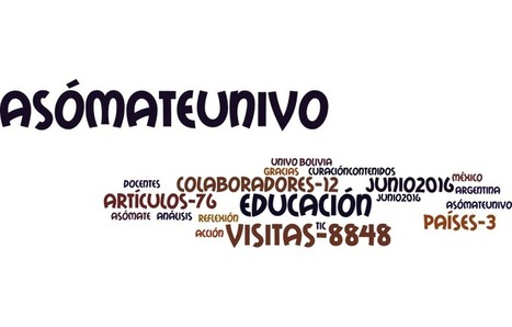 Numeralia de Asómate UniVO del mes de junio 2016   Asómate   Educacion, ecologia y TIC   Scoop.it