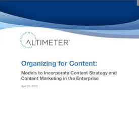 Organizing Your Department for Content Marketing: Strategic Requirements | Business 2 Community | Content Marketing and content sourcing | Scoop.it