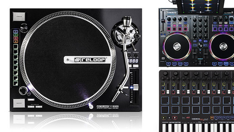 Reloop's RP-8000 Turntable, Beatpad + Keypad Controllers | DJing | Scoop.it