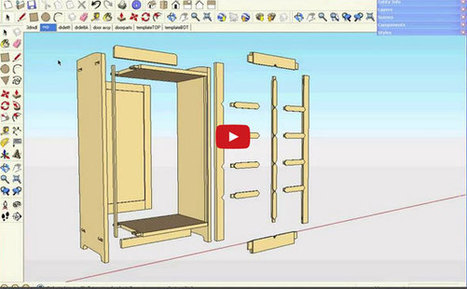 Best possible ways to apply sketchup for woodworking project | 3d information 2013 | Scoop.it