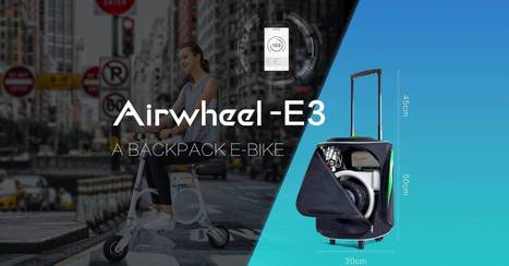 The Main Features of Airwheel Newly Released E3 Intelligent Folding Electric Assist Bicycles | Press_Release | Scoop.it