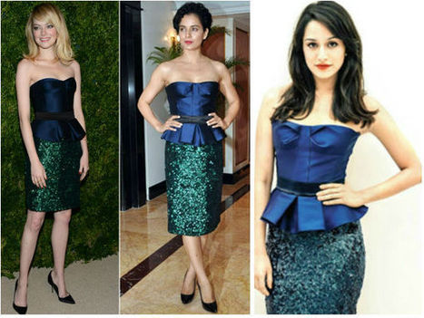 Emma, Kangana & Shraddha Compete In  Burbery Prorsum | CHICS & FASHION | Scoop.it