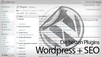 Die besten Wordpress Plugins für SEO 2013 | Social-Media-Storytelling | Scoop.it