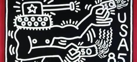Keith Haring contra el abuso de poder, la desigualdad social, el racismo, la homofobia... - 20minutos.es | cultura conocimiento | Scoop.it