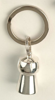 Key Ring - Champagne Cork Silver Plate - Wedding Gifts & Accessories | Home Bar Equipments UK | Scoop.it