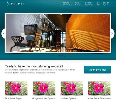 30 Most Impressive Free WordPress Business Themes - Designzzz | Wordpress templates | Scoop.it