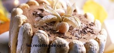 Charlotte aux 2 chocolats | Recettes de cuisine | Scoop.it
