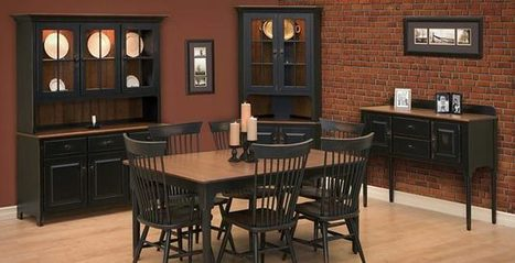 Amish Dining Room Sets, Dining Room Collections Bristol, PA - Amish Furniture | Amish Furniture Collections | Scoop.it