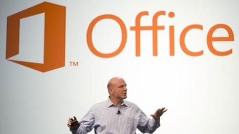 La lente adoption d'Office 2013 en entreprise - 01net | Visioconférence | Scoop.it