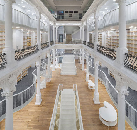 Bucharest Bookstore Opens in Beautifully Restored 19th Century Building | Xposed | Scoop.it