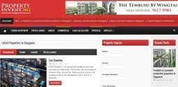 PropertyInvest.sg Launches New Site — Property Portal Watch | Realestatedreams | Scoop.it