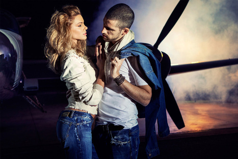 Denim Made in Le Marche: two (women)(men) in the world SS14 campaign | Le Marche & Fashion | Scoop.it