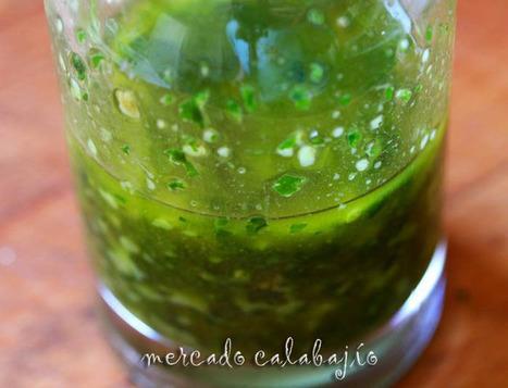 Receta de mojo de cilantro (mojo verde canario)   Mercado Calabajío   Blog de cocina con recetas paso a paso   Les Receptes a mà   Scoop.it