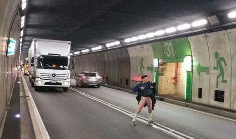 Watch 'true Scotsman' piper entertain German traffic jam trapped behind broken ... - Scottish Daily Record | My Scotland | Scoop.it