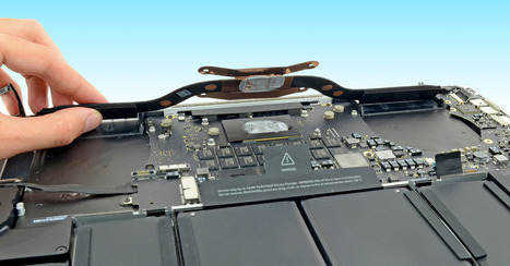 Apple's New Retina MacBook Pros Are Nearly Impossible to Repair | Communication design | Scoop.it