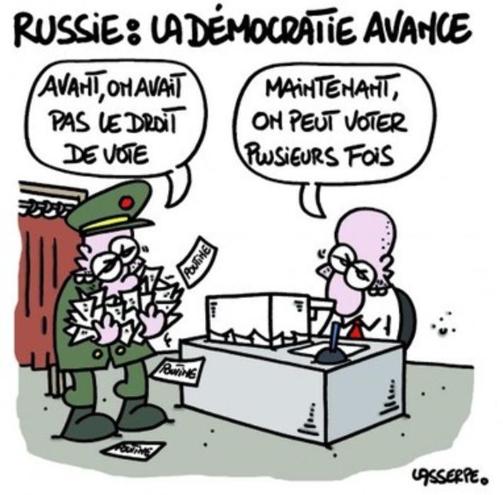 Russie, la démocratie avance | Baie d'humour | Scoop.it