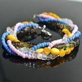 How to make bracelets out of beads- engaged in bead bracelet instructions | bracelets | Scoop.it