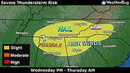 Dangerous Storms Aimed For Tennesse | Disaster Emergency Survival Readiness | Scoop.it