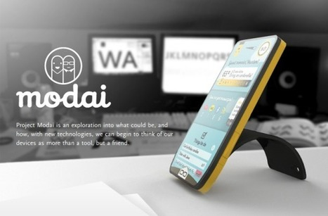 Modai concept phone wants to be your friend | Technology and Gadgets | Scoop.it