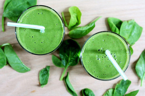 12 Ways To Sneak Spinach Into Your Smoothie - SELF | Healthy Food Tips & Tricks | Scoop.it