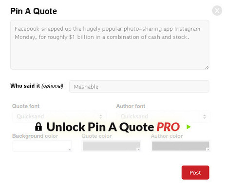 How To Pin A Quote To Pinterest - Social Strand Media | Top Social Media Tools | Scoop.it