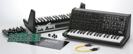 Build your own analog synthesizer with Korg's MS-20 kit | Heron | Scoop.it