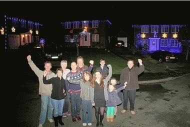 East Grinstead mechanic celebrates prostate cancer all-clear with neighbours by creating spectacular Christmas lights display | Brighton and Sussex University Hospitals NHS Trust | Scoop.it