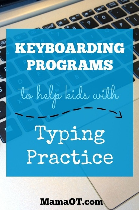 Keyboarding Programs to Help Kids with Typing Practice - | Learn Everywhere | Scoop.it