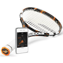 The First Connected Tennis Racket | Sports, America | Scoop.it
