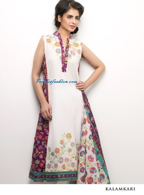 Stylish Vaneeza V Lawn Dresses 2013 for Women | Free Hot Fashion | Stylish Lawn Prints | Scoop.it