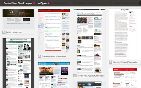 50 Curated News Sites: A Collection of Real-World Examples | Content Curation World | Scoop.it