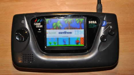 Convert an Old Game Gear Into a Multi-System Retro Game Console | Raspberry Pi | Scoop.it