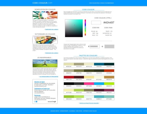 Code couleur :  Signification des couleurs | Time to Learn | Scoop.it