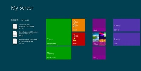 My Server Windows App for Windows Server 2012 Essentials | Windows Infrastructure | Scoop.it